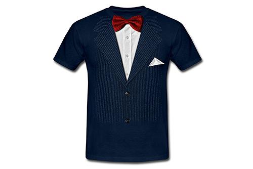 JGA Shirt | Junggesellenabschird T-Shirt - Anzug mit Fliege