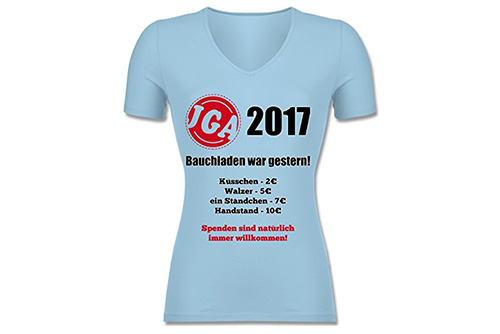 JGA Shirt | Junggesellinnenabschied T-Shirt - Bauchladen war gestern