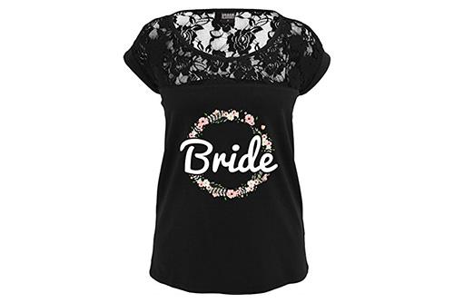 JGA Shirt | Junggesellinnenabschied T-Shirt - Blumenkranz