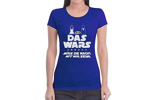 JGA Shirt | Junggesellinnenabschied T-Shirt - Das wars