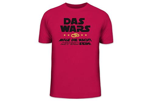 JGA Shirt | Junggesellenabschird T-Shirt - Das wars