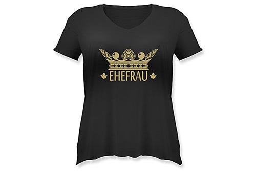 JGA Shirt | Junggesellinnenabschied T-Shirt - Ehefrau