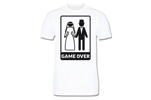 JGA Shirt | Junggesellenabschird T-Shirt - Game Over