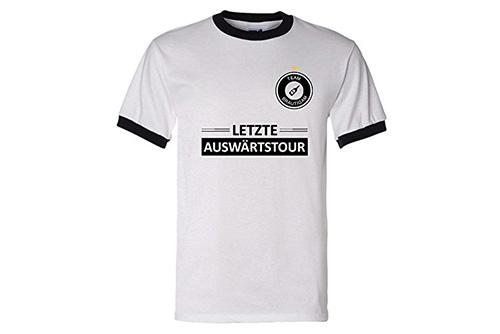 JGA Shirt | Junggesellenabschird T-Shirt - Fußball Auswärtstour Team
