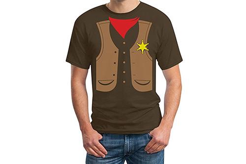 JGA Shirt | Junggesellenabschird T-Shirt - Sheriff Kostüm