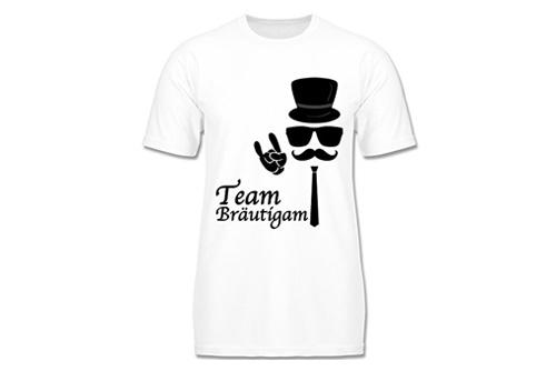 JGA Shirt | Junggesellenabschird T-Shirt - Team Bräutigam