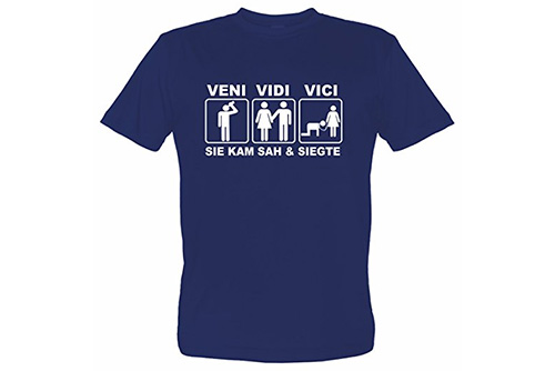 JGA Shirt | Junggesellenabschird T-Shirt - Veni Vidi Vici
